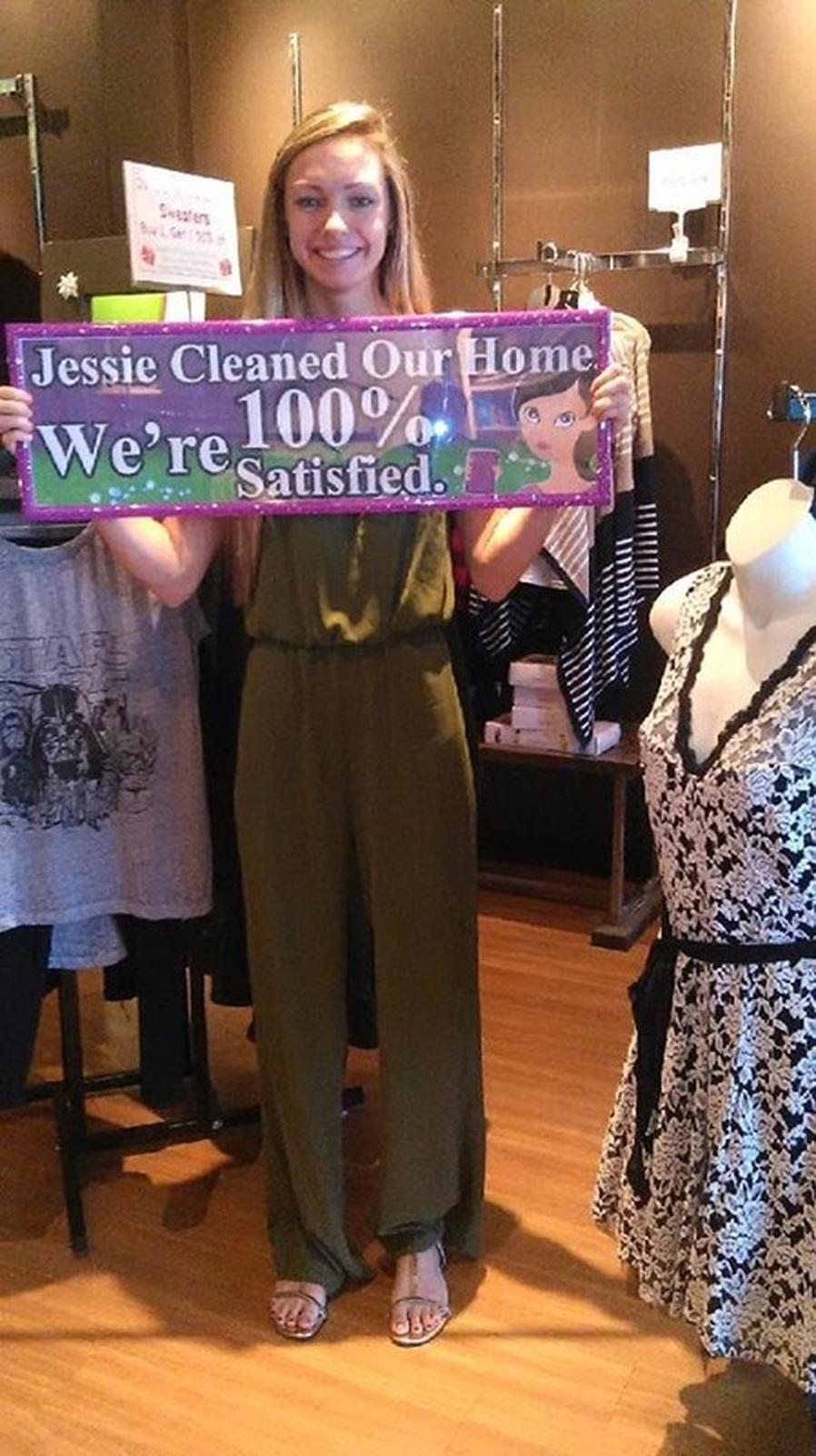 ponte vedra beach house cleaning services by jessies house & carpet cleaning 1.877.CLEANING JESSIESHOUSECLEANING.COM  100% SATISFIED CUSTOMER